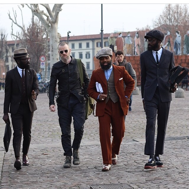 Florence Fashion Event: Pitti Uomo 2014