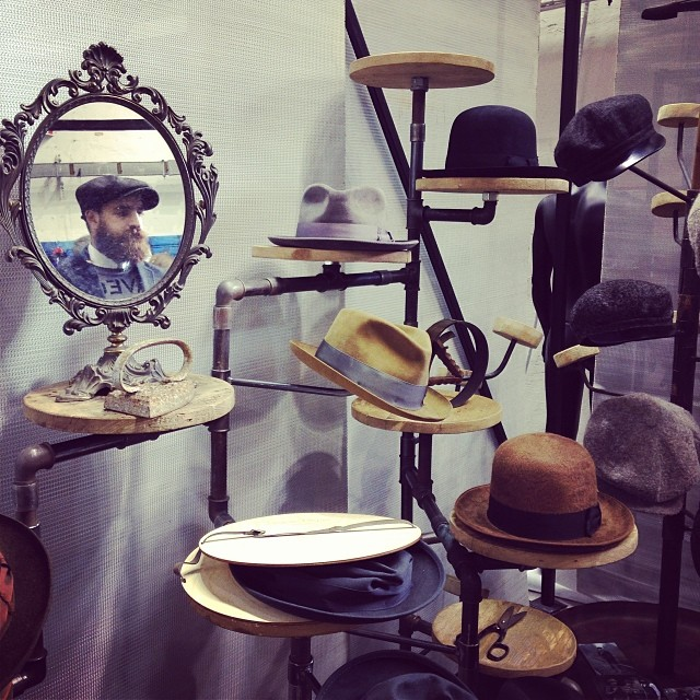 Florence Fashion Event: Pitti Uomo 2014 - Gentleman hats