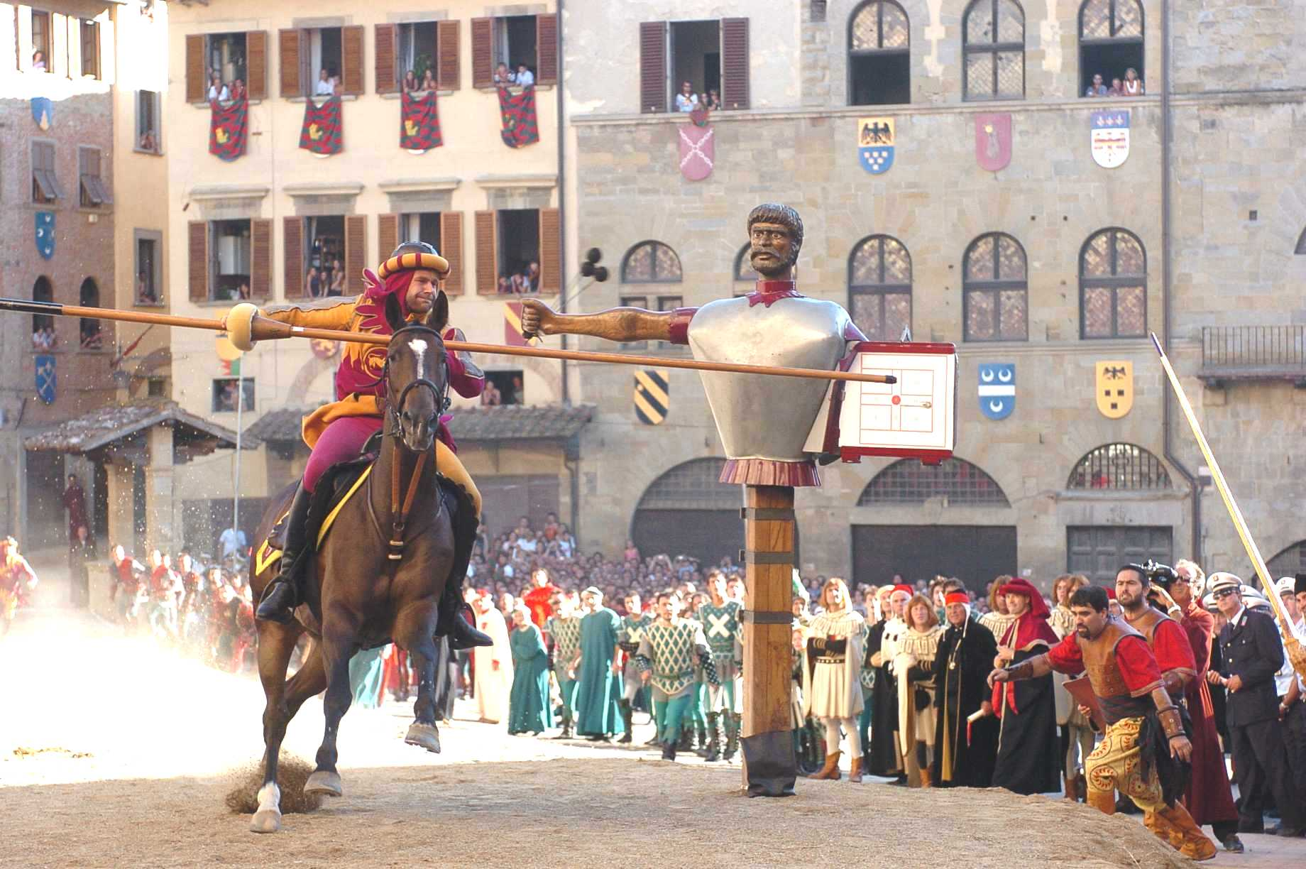 the Saracen Joust 2015, Arezzo
