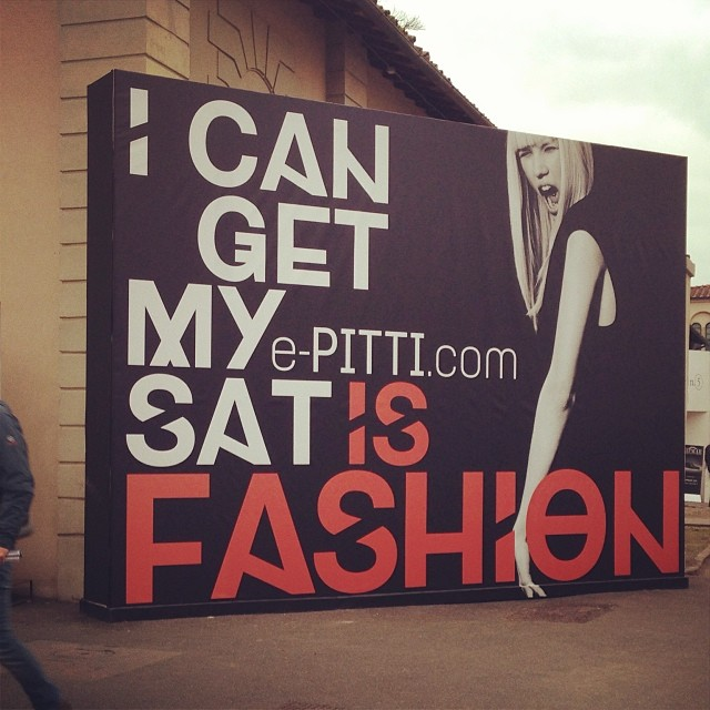 Pitti Uomo 2014 via Instagram